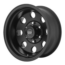 4-NEW American Racing AR172 Baja 15x8 6x114.3 +20mm Satin Black Wheels Rims