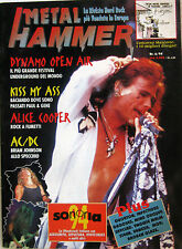 METAL HAMMER 6 1994 Kiss AC/DC Alice Cooper Quorthon Billy Milano MOD Malmsteen