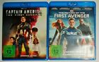 Captain America Teil 1 und 2 Return of the First Avenger Blu Ray NEU Marvel