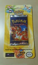 1 Sealed Pokemon Base Set Blister Booster Pack Fresh From Case Charizard