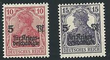 Deutsches Reich aus 1919 ** postfrisch MiNr.105 a, 106 b, geprüft!