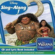 DISNEY SING-ALONG: MOANA CD VARIOUS ARTISTS - NEW RELEASE MARCH 2017