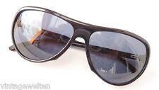 Missoni stylishe Designer Sonnenbrille Damen schwarz Tropfenform elegant GR:L