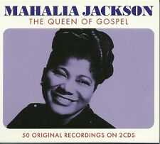 MAHALIA JACKSON THE QUEEN OF GOSPEL - 2 CD BOX SET