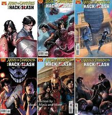 ARMY OF DARKNESS vs HACK / SLASH Comic (6) Issue SET #1 2 3 4 5 6 1st print lot