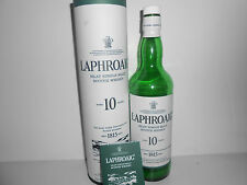 EMPTY WHISKY BOTTLE - LAPHROAIG 10 YEARS OLD / BOXED / 70cl PERFECT