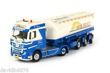 WSI COLLECTIBLES MERCEDES-BENZ ACTROS MP4 TANKER VAN DEN BRUG 01-1379
