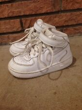 Nike Air Force 1 One High Tips White Toddler Size 8