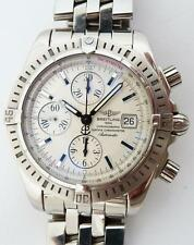 Breitling Chronomat Evolution SS  Watch A13356 Automatic Box & Manual. Great