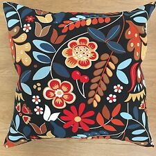 Ikea TIGERÖGA Scandinavian Fabric Floral Flower Cushion Covers 16""
