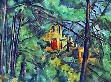 PAUL CEZANNE CHATEAU NOIR OLD MASTER ART PAINTING PRINT POSTER 2050OMA