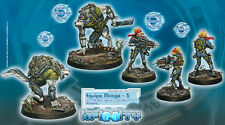 Infinity Corvus Belli Equipe Mirage-5 Ariadna Army box metal new