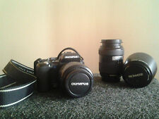 Olympus EVOLT E-500 8.0 MP Digital SLR Camera + lens & flash & bag bundle