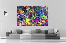 PSYCHEDELIC VISUEL DESIGN Wall Art Poster Grand format A0 Large Print 02