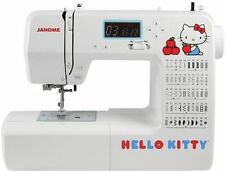 Hello Kitty Janome Heavy Duty Computerized Sewing Machine NRFB