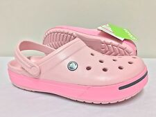 Crocs Crocband ii Pink Lemonade Unisex Relaxed Fit Size  Men UK 7 / Women UK 8