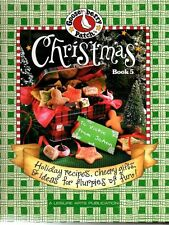 Gooseberry Patch Christmas Book 5 Recipes Decorating Gifts Holiday Fun