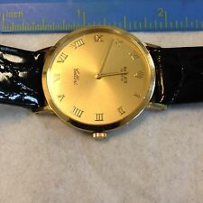 Rolex Cellini Classic Mens 18K Yellow Gold Watch 4112