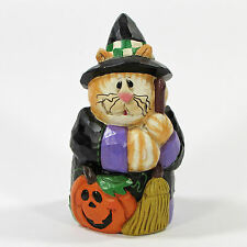 "Midwest of Cannon Falls Eddie Walker CAT IN WITCH COSTUME 5"" Figurine Halloween"
