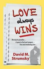Love Always Wins by David Strumsky (2015, Paperback)