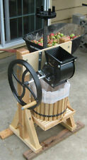 Happy Valley Homesteader Cider Press & Grinder Wine Making Apple Juice Crusher