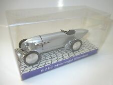 Benz Rennwagen racing car BLITZEN BENZ (1911) silber met, Curosor 1:43 MB boxed!