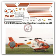 Peddinghaus 1/72 EC135 T1 Rescue Helicopter Markings (Christoph 61) EP1689