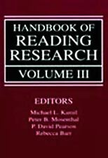 HANDBOOK OF READING RESEARCH [9780805823998] NEW PAPERBACK BOOK