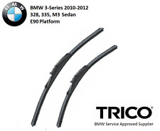 Trico Wiper Blade Pair Set for BMW 328 335 M3 3-Series Sedan E90 LCI 2010-2012