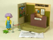 Playmates World Of Springfield The Simpsons WOS  Springfield DMV