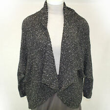 NEW NWOT Lane Bryant Fall Winter Plus Size Gray Dolman Cardigan Sweater 26/28