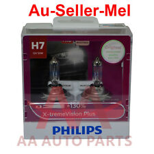 Philips H7 X-treme Vision Plus +130% Halogen Light bulbs extreme xtreme