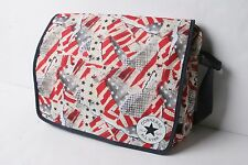 Converse Small Flap Reporter Bag (America Glitch White)