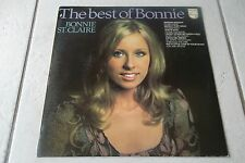 BONNIE ST CLAIRE THE BEST OF LP DUTCH 1973 1ST PRESSING