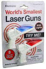 Worlds Smallest Laser Guns Brand New Childrens Electronic toys Outdoor Indoor
