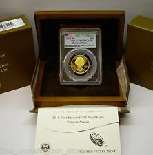 "2016-W $10 Gold ""Proof"" PAT NIXON First Spouse Coin PCGS PR69DCAM FIRST STRIKE"