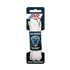 """New A&R Major League Lacrosse MLL Licensed 4 Pack of 36"""" Sidewall Strings White"""