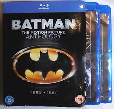 BATMAN: THE MOTION PICTURE ANTHOLOGY 1989-1997 *Damaged* Blu-Ray Returns Forever