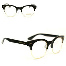 thick black rimmed glasses eBay