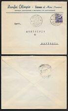 STORIA POSTALE REPUBBLICA 1947 Lettera da Mori a Rovereto (FXH)