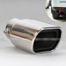 Universal STRAIGHT STAINLESS STEEL EXHAUST TAIL REAR MUFFLER TIP PIPE End 56mm