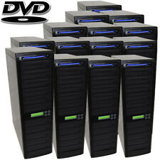 300 SATA Burner CD DVD Disc Daisy Chain Duplicator Copier Replicator Equipment