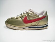 NOS OG 1997 NIKE CORTEZ GOLD Just Do It Trainer Ldv Tiger Corsair Waffle 90s Vtg