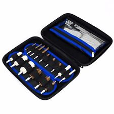 129pc Gun Cleaning Kit Universal Rifle Pistol Shotgun Firearm Maintenance case