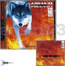 "ASSALTI FRONTALI ""BANDITI"" RARO CD 1999 - ICE ONE"