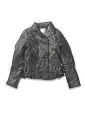 NEW! DIESEL JIFRUFRU  Girl's Padded Sheep Leather Jacket Size S * (8/9 Years)