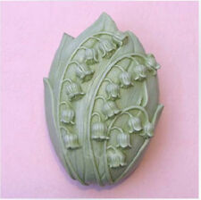 Lily of the Valley Silicone Soap mold Craft Molds DIY Handmade soap S017