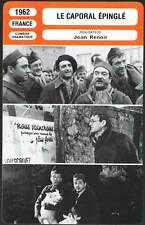 LE CAPORAL EPINGLE - Cassel,Renoir (Fiche Cinéma) 1962 - The Elusive Corporal