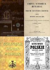 DVD 200 Bücher auf Münzen Böhmen Polen Ungarn Kroatien Serbien Bulgarien Rumänie