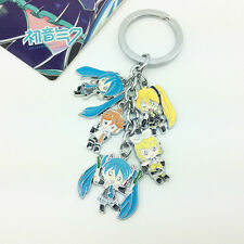 Anime Vocaloid Cosplay Hatsune Miku Rin&Len Key Chain Ring KeyChain #07